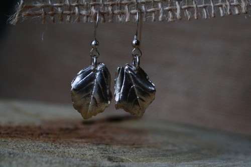 28_Earrings_Silver_Leaf_001
